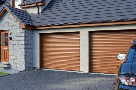 Garador roller garage door