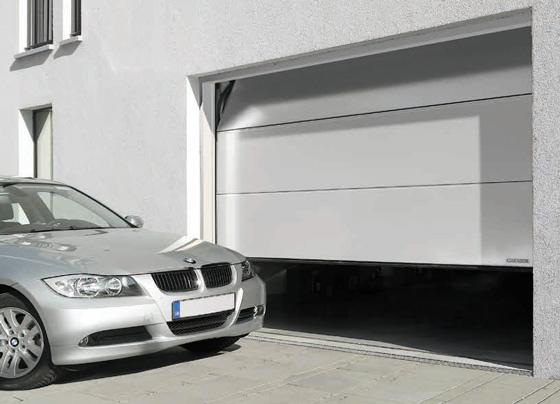 Garador sectional garage door