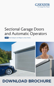 Garador Sectional Garage Doors brochure